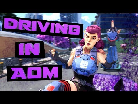 Driving and Vehicles in Agents of Mayhem