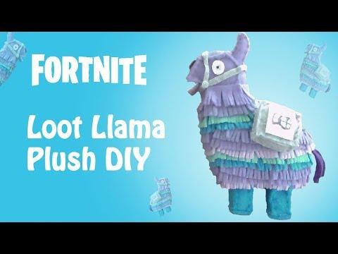 Fortnite Loot Llama Plush DIY