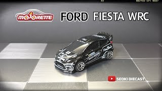 Majorette Racing Cars - FORD Fiesta RS WRC Black