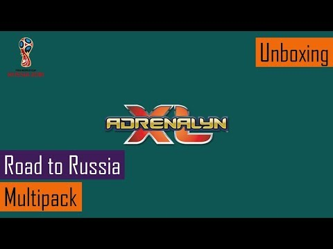 Unboxing Adrenalyn XL - Road to Russia: 5x Multipack