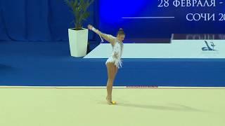 Александра Солдатова -  Булавы 19.800(многоборье)