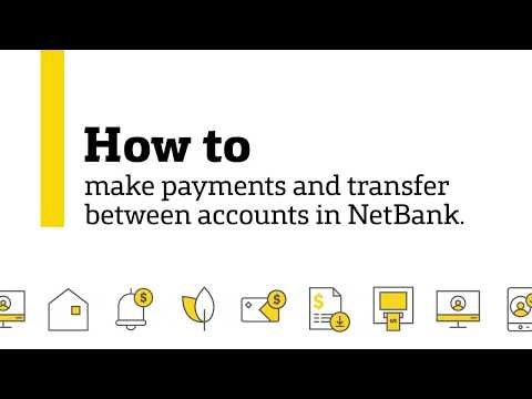 How To Make Payments And Transfer Between Accounts In NetBank