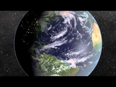 "Animation ""Earth Zoom"""