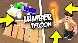 HOW TO GET RARE LUMBER TYCOON 2 ITEMS