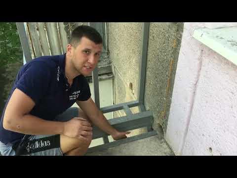 Как увеличить балкон на первом этаже