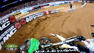 GoPro: Adam Cianciarulo - 2020 Monster Energy Supercross - 450 Main Event Highlights From St. Louis