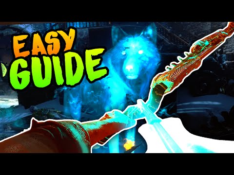 BEST WOLF BOW UPGRADE GUIDE EASY Black Ops 3 Zombies Der Eisendrache Easter Egg Guide  Tutorial
