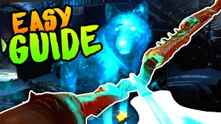 BEST WOLF BOW UPGRADE GUIDE [EASY] Black Ops 3 Zombies Der Eisendrache Easter Egg Guide / Tutorial