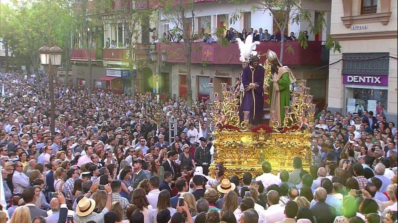 """Resultado de imagen de Marcha """"Un cielo para mi Virgen"""" a Jesús del Soberano Poder (San Gonzalo) en Campana"""