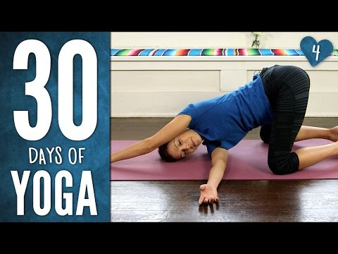 Day 4 - Yoga For Your Back - 30 Days of Yoga