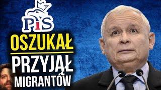 PIS Oszukał Polskę i Polaków. Potajemnie Przyjął Migrantów z Zachodu Europy - Komentator