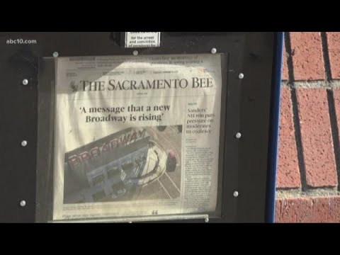 Newspaper company McClatchy, publisher of Sacramento Bee, files for bankruptcy