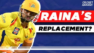 WHO can REPLACE Suresh RAINA?   Cricket Aakash   IPL 2020 News
