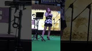 강원도 정선 5일장 야외공연 실황