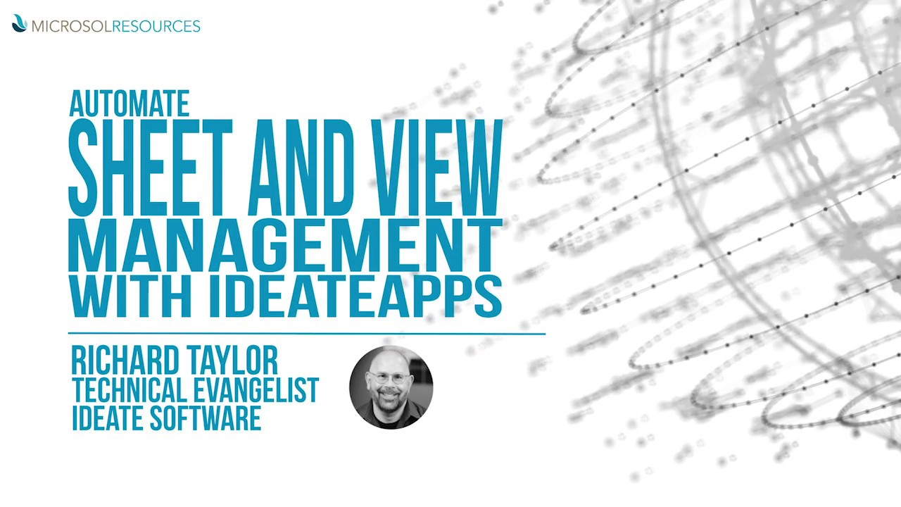 Automate Sheet & View Management with IdeateApps