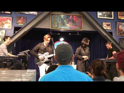 The Naked And Famous - Punching In A Dream LIVE HD (2016) Hollywood Amoeba Music