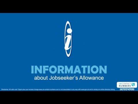 General Information About Jobseekers Allowance In UK