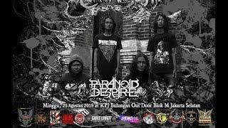 PARANOID DESPIRE Live at [ INDONESIA DEATH FEST#3 ] No: 18