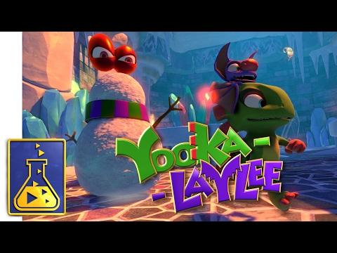 Yooka-Laylee - Glitterglaze Glacier Trailer