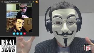 Anonymous Habla de la Preocupante situación de La Guerra Santa en Israel y Palestina