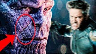 ¿Marcas en la Cara de Thanos Causadas por Wolverine!!?? -Los Vengadores Avengers