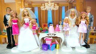 Barbie I Can Be A Bride Wedding Dress Playset Rapunzel Gaun pengantin boneka Barbie Vestido de noiva