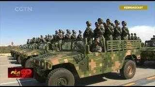 Военный парад в Китае 30 07 2017