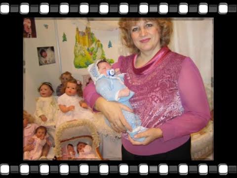 КУКЛЫ-РЕБОРН ИННЫ БОГДАНОВОЙ ВЫСТАВКА ВРЕМЯ КУКОЛ № 16 12 2015 Г .