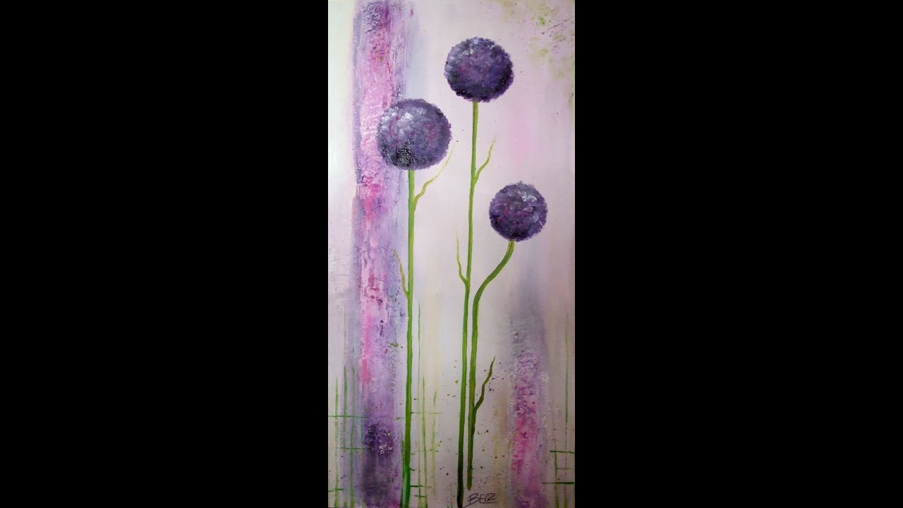 painting demo ornamental onion acrylmalerei lange version. Black Bedroom Furniture Sets. Home Design Ideas