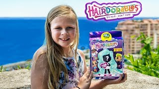 Assistant Opens New Hardorables Ultimate Surprise Toys by the Ocean