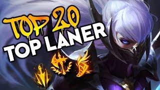 Top 20 TOP LANER Plays #10 | League of Legends