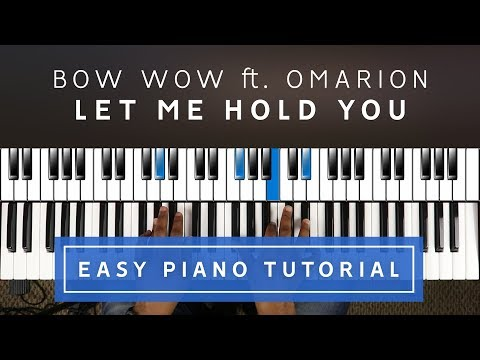 Bow Wow - Let Me Hold You EASY PIANO TUTORIAL