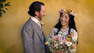 A Beautiful Bohemian Wedding at La Posada de Santa Fe - Sneak Peek Video