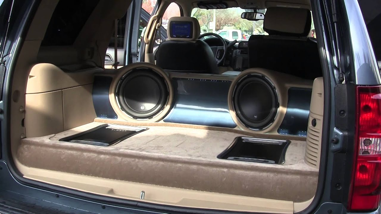cai builds a custom sound system for chevy tahoe [ 1280 x 720 Pixel ]