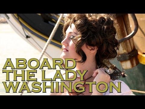 Aboard The Lady Washington - Jenny Rae TV
