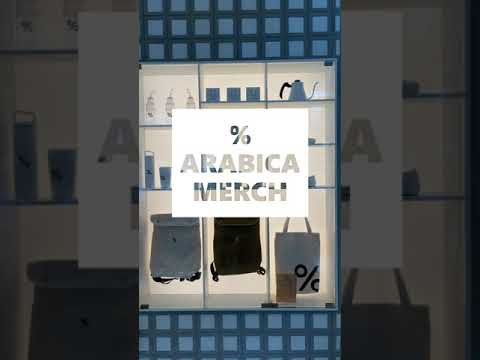 % ARABICA MERCH [Merchandise], Central World, Bangkok #Shorts
