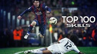 Top 100 ● Skill/Dribble●  Moves 2014/2015 |HD|