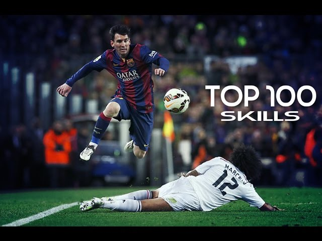 Top 100 ● Skill/Dribble●  Moves 2014/2015 |HD|