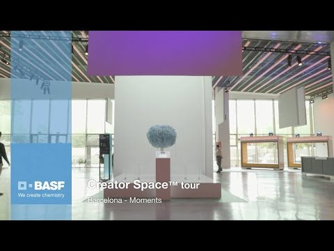 Cultural activity of Domestic Data Streamers in BASF's Creator Space tour in Barcelona