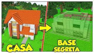 TRASFORMIAMO LA MIA CASA IN BASE SEGRETA! - Minecraft ITA