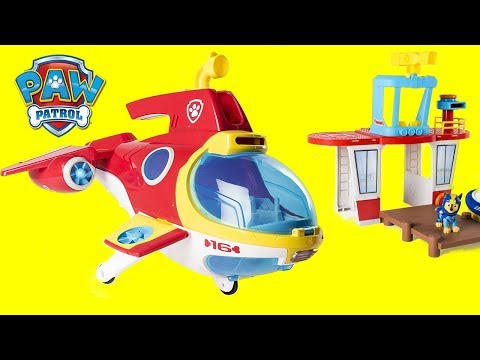 NEW Paw Patrol Sub Patroller Transforming Submarine, Octonauts Tweak, Chase, Sea Patrol Beach Tower