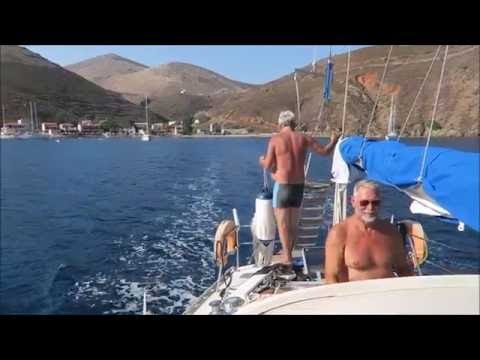 Sailing from Porto Kayio to Elafonisos - Peloponnese 2016-05