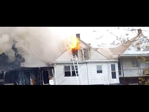 20160426 3rd Alarm - Townhome fire - Mount Carmel, Pa