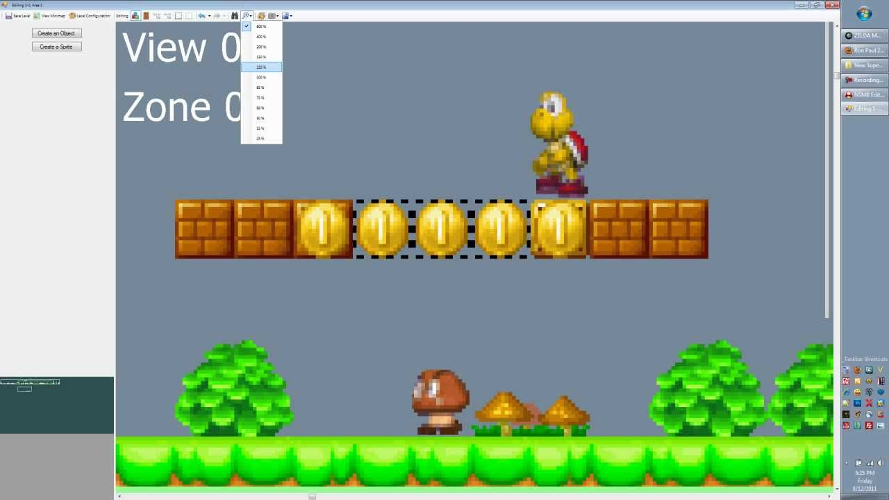 New Super Mario Bros DS Level Editor Tutorial 01 - Editor ...