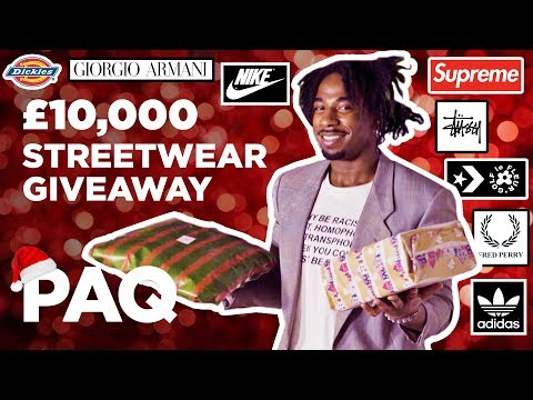 PAQ Ep #15 - Giving away £10,000 worth of streetwear gifts for Christmas (Xmas Special)