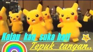 Pokemon nyanyi (Kalau kau suka hati tepuk tangan)