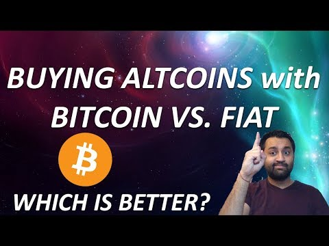 BUY THE ALTCOIN DIP!?!? | Should you Buy with Bitcoin vs Fiat? | TOP 5 SOLID COINS