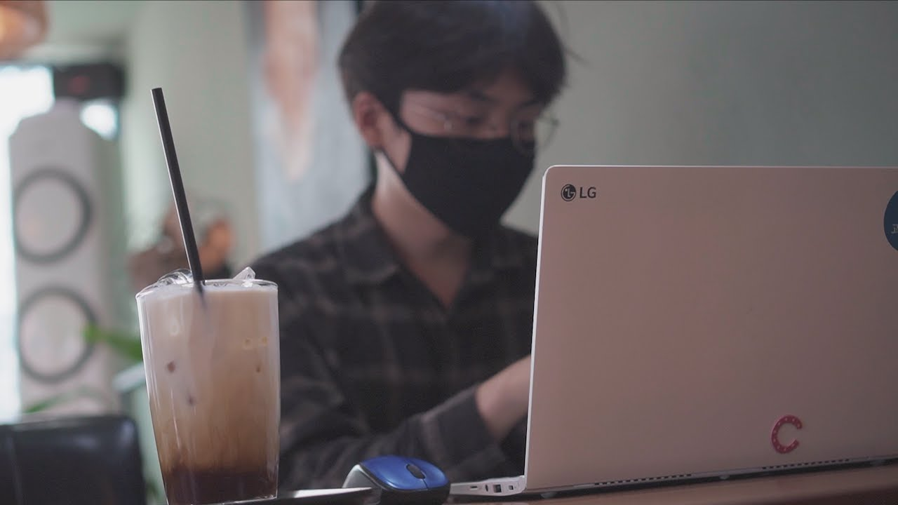 신학생 기말고사 공부 브이로그 | 구독자 4000명 공약 약속 지키기!!