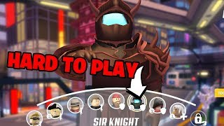 How to Play the ONLY Tank in ROBLOX Q-CLASH! (Sir Knight Gameplay)