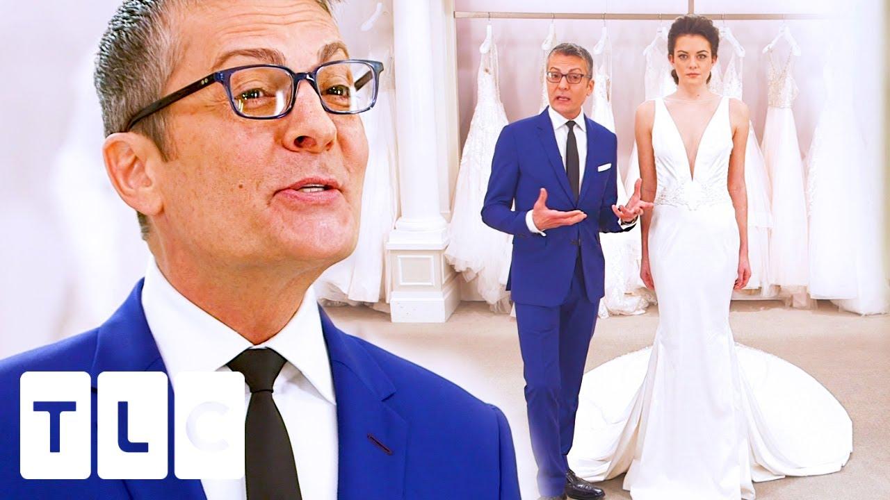 The Most Elegant Sheath Wedding Dresses | Say Yes to the Dress: Bridal Bracket